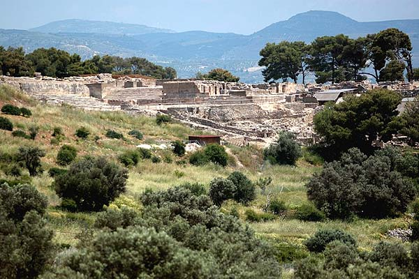 Phaistos the Minoan Palace