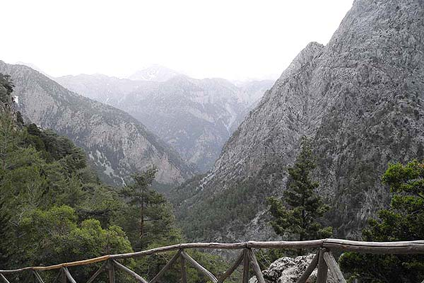 Samaria Gorge in Crete