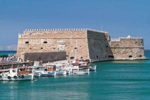 Koules fortress heraklion crete day trip from Agioklima