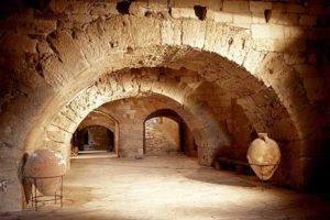 Τοξοτές καμέρες στο εσωτερικό φρούριου κούλε