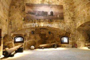 Πολεμίστρες φρούριου κούλε στο Ηράκλειο