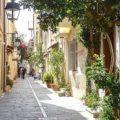 Rethymno walking at the beautiful alleys