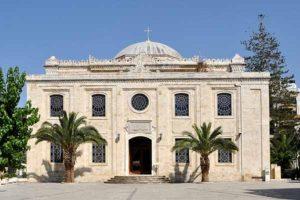 The church of st Titus in heraklion crete